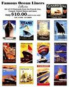Famous Ocean Liners Collection