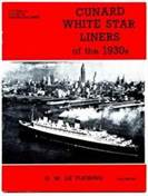 Cunard White Star Liners of the 1930s
