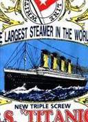 Titanic 1912 Motif T-Shirt