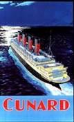 Moonlight Voyage (Cunard's Aquitania)