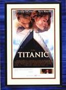 """Lithograph Poster from the Movie """"Titanic"""""""