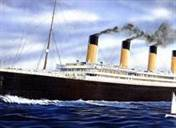 RMS Olympic at Sea