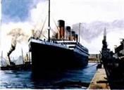 Titanic Departing Southhampton
