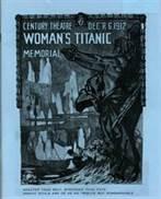 Women's Titanic Memorial: Century Theatre Programme