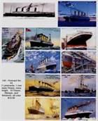 Titanic, Olympic and Britannic