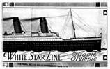 White Star Line Titanic & Olympic Booklet Circa (1911)