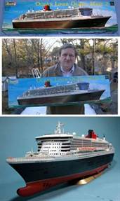 Queen Mary 2 Model Kit