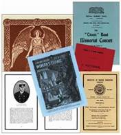 Rare Titanic Memorial Books Collection