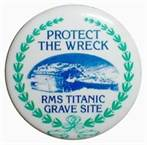 """Fridge Magnet """"Protect the Wreck"""""""