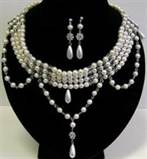 Edwardian Demi-Parure Necklace and/or  Earrings