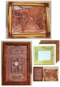 Titanic Grand Staircase Paintings Special