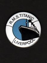 Titanic Life Ring Pin