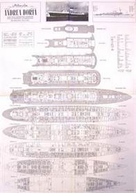 The Italian Line Steamship ANDREA DORIA