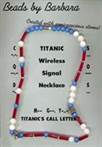 Titanic Wireless Signal Necklace