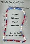 Titanic Wireless Signal Necklace