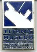 Titanic Museum Pin