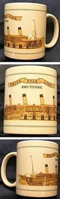 RMS Titanic Cutaway Mug