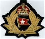White Star Line Cap Badge