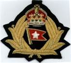 White Star Line Cap Badge