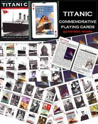 TITANIC COMMEMORATIVE PLAYING CARDS