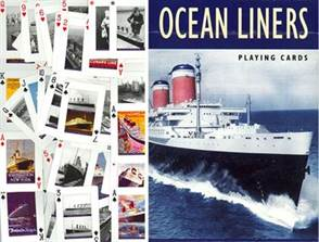OCEAN LINER PLAYING CARDS