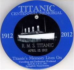 Titanic Centennial Pin