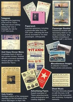 Titanic Mementoes Collection