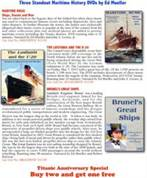 Three Standout Maritime History DVDs by Ed Mueller