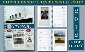 Collectible Titanic Desk Diary