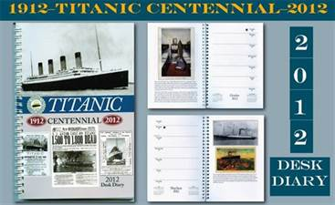 Collectible Titanic Desk Diary