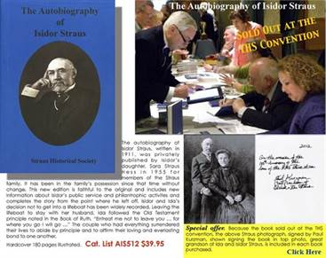 The Autobiography of Isidor Straus