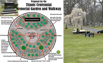 Donate to the Titanic Centennial Memorial Garden and Walkway