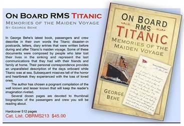 On Board RMS Titanic