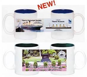 THS and Museum Mug / Titanic Centennial Memorial Mug