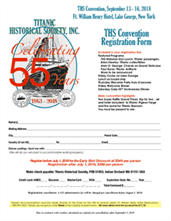 THS Convention 55 Years, September 13 - 16, 2018